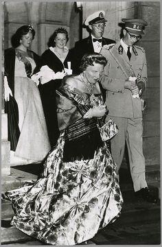 The Royal Forums-Princess Irene, Crown Princess Beatrix, Prince Bernhard, Queen Juliana, King Baudouin