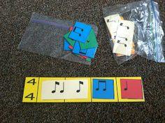 Music a la Abbott - Amy Abbott - Kodály Inspired Blog and Teachers Music Education Resource: Beat Strips