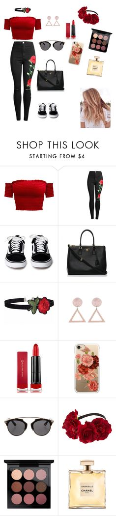 """""""Back to summer♥"""" by wendyfashion on Polyvore featuring Prada, Max Factor, Casetify, Christian Dior and MAC Cosmetics"""