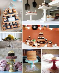 Simply Savannah Events: {Bright Idea Thursday} SIMPLY DIY: Cake Stands