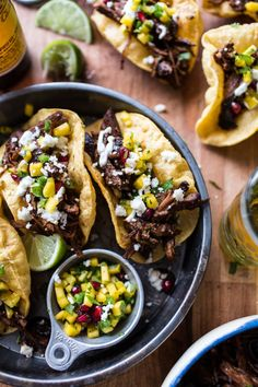 Birria Puffy Tacos | halfbakedharvest.com ... These are not made w traditional goat meat... Made w lamb...