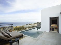 Find all about a luxurious new boutique hotel in Mykonos. This summer, Kalesma is the famous island's most anticipated new entry designed by the distinguished Greek design company K-studio Mykonos Hotels, Mykonos Greece, Crete Greece, Athens Greece, Santorini, Restaurants, York Hotels, Greek Design, Waterfront Restaurant
