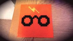 Harry Potter - Hama beads    Could be a crochet or cross stitch graph as well ;)
