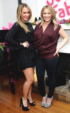 """Hilary Duff Is """"So Proud"""" of Sister and New Mom Haylie Duff: """"She's Really a Natural""""  Haylie Duff, Hilary Duff, Celeb Sisters"""