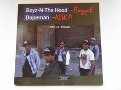 Eazy E / NWA  Boyz N The Hood/Dopeman 12 Inch by RockofSages, $25.00