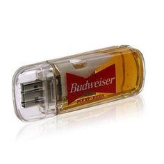 silly little Budweiser USB drive :P