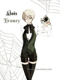 alois....the creepy, doll-like psychopath, who we all like..to a certain degree...:)