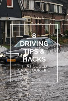 8 Driving Tips And Hacks That Could Save Your Life - From knowing how to flee a sinking car, to making your own phone holder, here are some driving hacks that can help you.