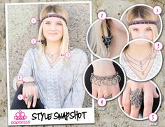 { Style Snapshot } A v-neck is flattering on most body types. Its ability to elongate can be exaggerated by adding the right kind of necklace, too! When accessorizing a v-neck, look for shapes that mimic the 'v'. This can be done by wearing a long necklace that forms a point, or a shorter necklace that falls within the open space the v-neck creates, such as in the example we've provided here.