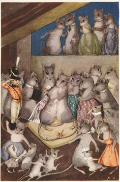 """The Steadfast Tin Soldier "" Art By Rudolf Koivu - From The Hans Christian Andersen Fairy Tale Collection - Denmark Fairytale Fantasies, Fairytale Art, Children's Book Illustration, Book Illustrations, Little Critter, Woodland Creatures, Grimm, Childrens Books, Illustrators"