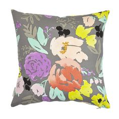 Caitlin Wilson PillowsDesigner Decorative Pillow Gray by DEKOWE