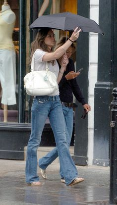 Kate Middleton goes for a walk with her mom on Monday morning, the day after the Concert for Diana, July 2, 2007.