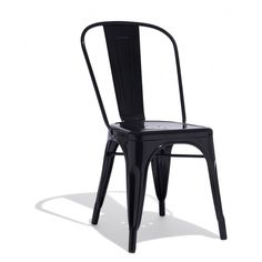 Marais A Side Chair — Originally found in the traditional bistros across France and first designed by Xavier Pauchard in 1934, it's rumored that the Marais Collection was created for use in the weather forecasting room on French battleships.