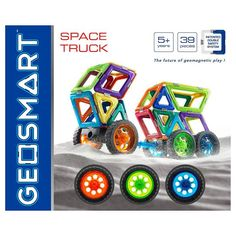 Geosmart 39-pc. Space Truck Set, Multicolor