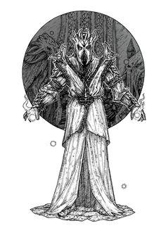 I,Miraak by Celerati on DeviantArt The Elder Scrolls, Elder Scrolls Games, Elder Scrolls Skyrim, Skyrim Comic, Skyrim Wallpaper, Tes Skyrim, Medieval Drawings, Character Art, Character Design
