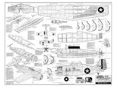 Grumman F4F Wildcat - plan thumbnail