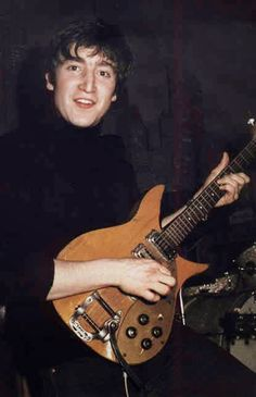 unknown, Lennon disconnected the middle pickup. The <b>Rickenbacker</b> ...