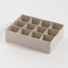 Boîte de rangement pliable 12 cases La Redoute Interieurs - Meuble et décoration