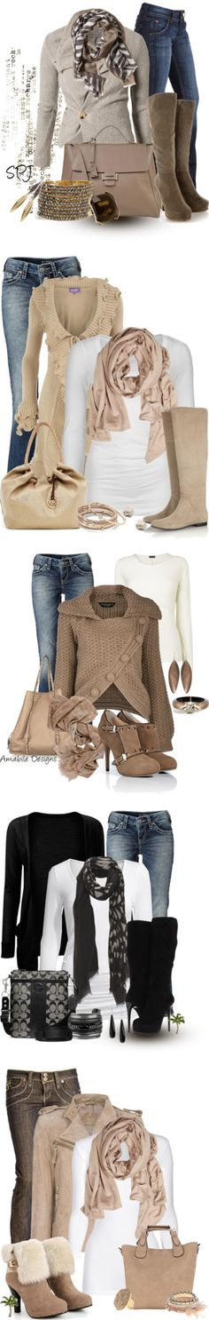 """Neutrals"" by s-p-j on Polyvore"