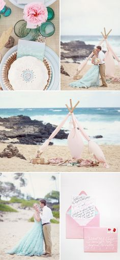 this inspiration shoot is absolutely gorgeous. i adore her dress and the invitations!