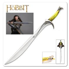 Thorin Oakenshield Smaug Durin's Orcrist Sword\Lord of the Rings Cosplay