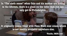 Do you have The Sixth Sense?  #movie #fact