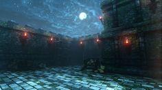 Medieval Fortress by CipherWolf.deviantart.com on @deviantART