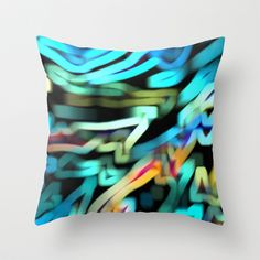 The Scarf Throw Pillow by Stancu Digital Art - $20.00