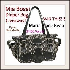 Διαγωνισμός με δώρο μια τσάντα αλαξιέρα Maria Black Bean bag γεμάτη με βρεφικά προϊόντα συνολικής αξίας 400$