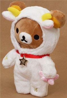 zodiac sign Capricorn Rilakkuma plush bear San-X 2