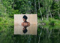 Pinturas hiperrealistas de Sean Yoro, artista conhecido como Hula.