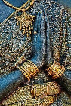Beautiful Anjali Mudra