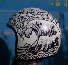https://flic.kr/p/jPcsmU | Tsunami sharpie helmet