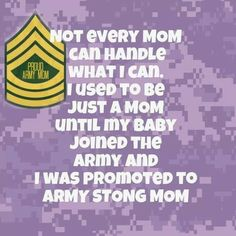 Army Mom Quotes | Pinned by Lisa Keemon
