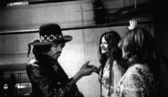 jefferson airplane with hendrix | Janis Joplin, Jimmi Hendrix e Grace Slick