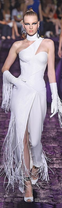 Atelier Versace Fall 2014 Couture ♔ Haute Couture Week Paris