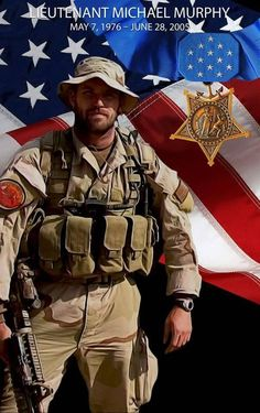 Honoring Navy SEAL LT Michael Murphy who selflessly sacrificed his life ten years ago today during Operation Red Wings in Afghanistan for our great Country. Please help me honor him so that he is not forgotten. Danny Dietz, Marcus Luttrell, Chris Kyle, Operation Red Wings, Michael Murphy, Military Police, Usmc, Marines, Military Quotes