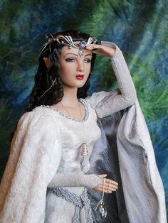 Elwing, Arwen's Grandmother, OOAK Lord of the Rings Doll by Vanessa Ford of Etheria Dolls | Flickr - Photo Sharing!