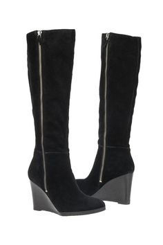 Franco Sarto Watch High Rise Wedge Boot