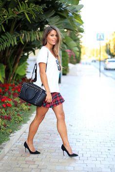 Seams for a desire: Trend Alert : Tartan skirt