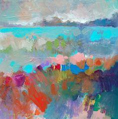 "Kaleidoscope 3, 12"" by 12"" on gallery wrap, $350, by Erin Gregory in Gregg Irby Fine Art out of Atlanta, Ga!"