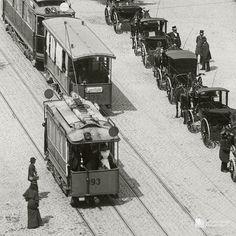 Danzig. Langer Markt, um 1906.