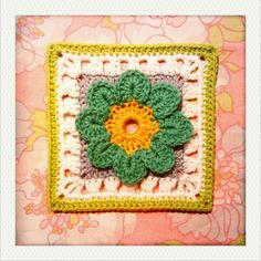This from 101 Crochet Squares by Jean Leinhauser- Im probably going ...