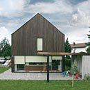 Fassade vertikal Planer, Shed, Outdoor Structures, Build House, Barns, Sheds