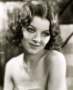 .The beautiful  talented Myrna Loy
