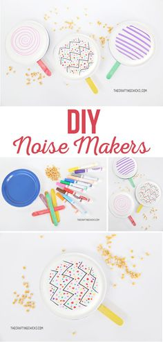 Noise Makers DIY Noise Makers are a great way to ring in the New Year. This quick and easy kids' craft is fun DIY Noise Makers DIY Noise Makers are a great way to ring in the New Year. This quick and easy kids' craft is fun Fun Craft, Diy Crafts For Kids Easy, Arts And Crafts For Teens, Art And Craft Videos, Craft Party, Diy Party, Bible Crafts For Kids, Fun Diy, Ideas Party