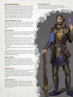 Dungeons And Dragons Classes, Dungeons And Dragons Homebrew, Dnd Classes, Dnd 5e Homebrew, Dnd Characters, Tabletop Games, Home Brewing, Mtg, Archer