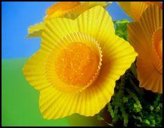 Delightful Daffodil Marshmallow Pops!