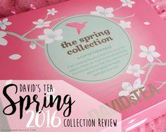 David's Tea Spring 2016 Collection - Review | Teacups & Travels Davids Tea, Ecommerce Hosting, Spring Collection, Teacups, Spring 2016, Lifestyle Blog, About Me Blog, Instagram