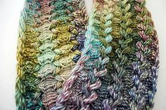 Braided Hairpin Lace Infinity Scarf - Free Crochet Pattern